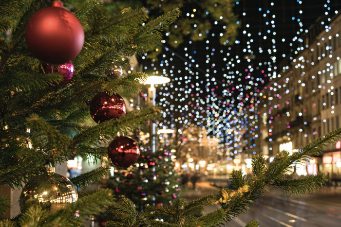 Switzerland Winter: Zuerich, Weihnachtsimpression